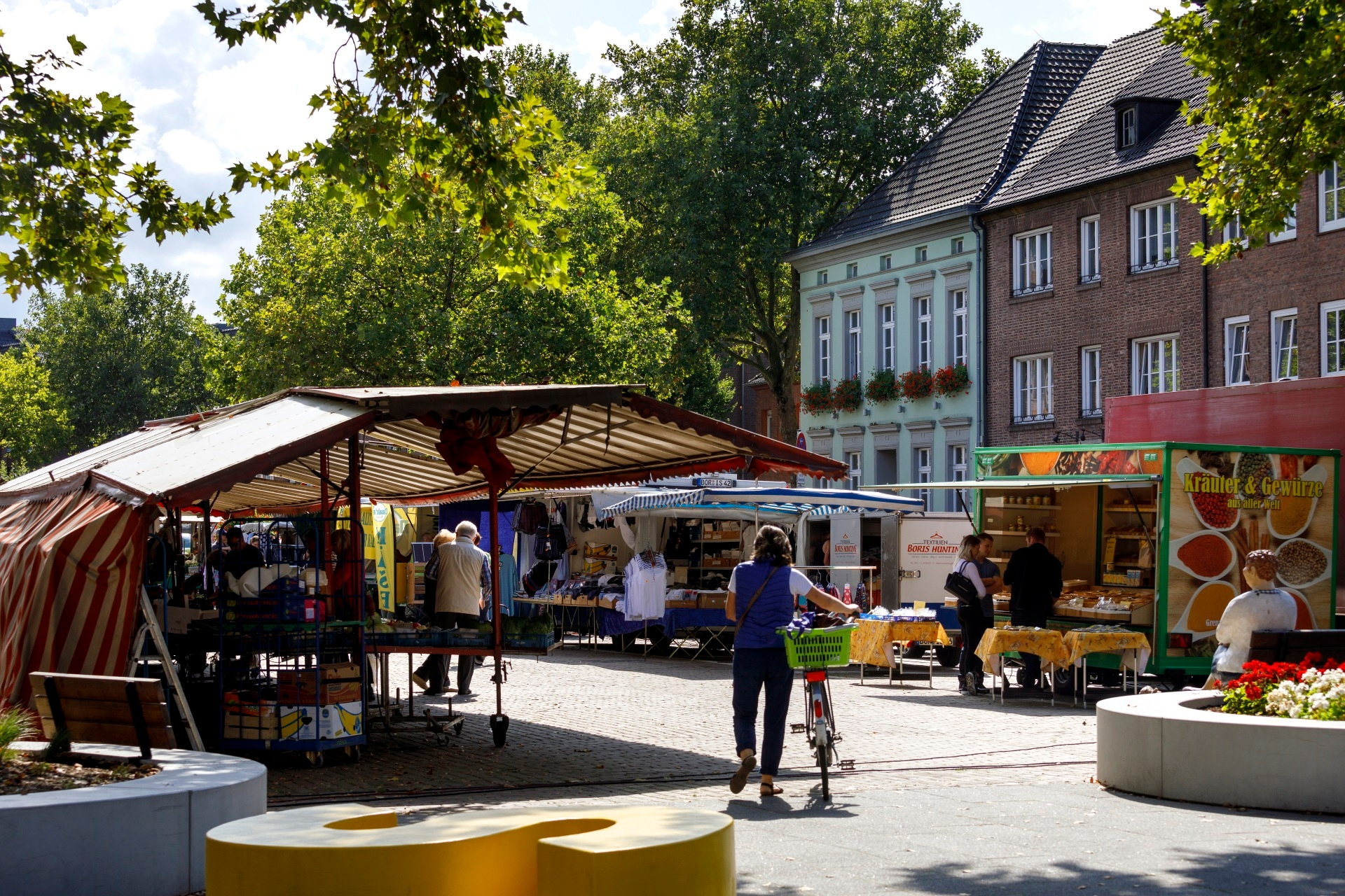 Markttag in Rees